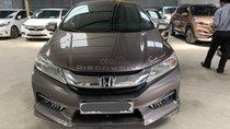 Bán Honda City 1.5AT năm sản xuất 2016, màu nâu, xe đẹp