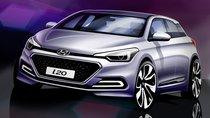 Ngắm bản phác họa Hyundai i20 sắp ra mắt