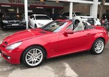 Xe sang mui trần Mercedes-Benz SLK 2010 rao bán gần 800 triệu tại Hà Nội