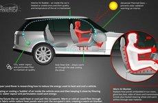Jaguar Land Rover tiết lộ nghiên cứu 'Chăn không khí ấm' nhằm giảm lượng tiêu hao nhiên liệu