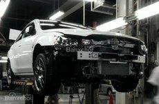Cận cảnh quá trình sản xuất những chiếc Mitsubishi Lancer Evolution Final Edition