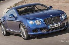 Bentley Continental bị triệu hồi do nguy cơ cháy nổ