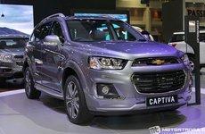 Cận cảnh Chevrolet Captiva 2016 vừa ra mắt thị trường Thái Lan
