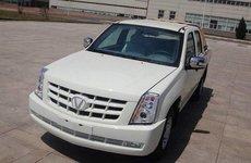 Shanxi Victory Jinchi X1 trắng trợn nhái mẫu Cadillac Escalade EXT