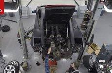 Lamborghini Gallardo và quá trình bảo dưỡng động cơ đồ sộ