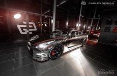 Hãng độ Carlex Design giới thiệu phiên bản Nissan GT-R bằng crôm