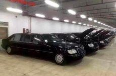 Chính phủ Trung Quốc đấu giá dàn limousine Mercedes-Benz