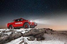 Bản độ hầm hố Toyota Hilux trên đất Nga kỳ vĩ