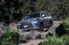 10 điều nên biết về chiếc xe Lexus LX 570 2016 với khả năng off-road