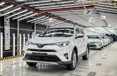 Chiếc Toyota RAV4 đầu tiên xuất xưởng tại Saint Petersburg