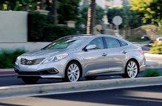 Hyundai Azera 2017 nâng cấp nhẹ dành cho thị trường Mỹ