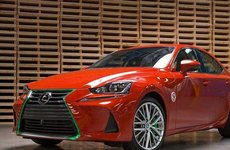 Tròn mắt trước Lexus IS phong cách 'tương ớt' hot khó tả