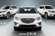 Mazda CX-5, Nissan X-Trail, Honda CR-V: Cuộc so găng của bộ 3 crossover cỡ nhỏ Nhật, giá 1 tỷ Đồng