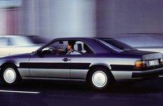 Mercedes E-Class Coupe và lịch sử 30 năm thăng trầm