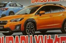 Subaru XV 2018 lộ diện trên báo Nhật