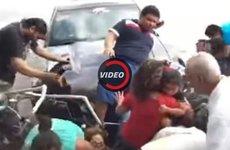 Mất kiểm soát, Ford Mustang đâm vào đám đông tại Mexico