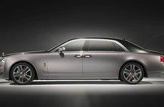 Rolls-Royce Ghost sơn kim cương trình diện