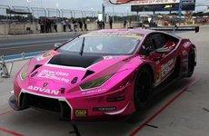Chiêm ngưỡng Lamborghini Huracan GT3 - Xe đua với màu hồng tím cực chất