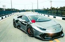 Lamborghini Huracan độ vành Forgiato 'đẳng cấp'