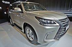 Lexus LX450d máy dầu có giá tương đương 8,2 tỷ đồng tại Ấn Độ