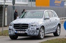 Mercedes-Benz GLE 2019 lộ ảnh chạy thử