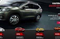 Nissan tiếp tục ưu đãi lớn trong tháng 6/2017