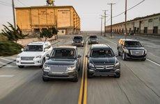Điểm danh 10 SUV có khoảng sáng gầm cao nhất 2017