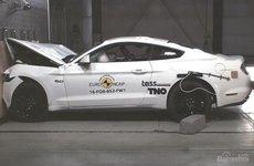 Ford Mustang vẫn chỉ đạt an toàn 3 sao của Euro NCAP
