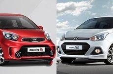 So sánh thông số kỹ thuật của bộ đôi ăn khách Hyundai Grand i10 CKD và Kia Morning
