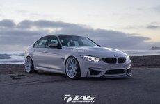 BMW M3 độ trắng 'độc'