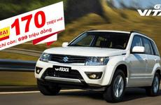 SUV nhập Suzuki Grand Vitara giảm giá sốc lên đến 170 triệu đồng