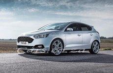 Lộ ảnh phác họa hatchback Ford Focus thế hệ mới nhất