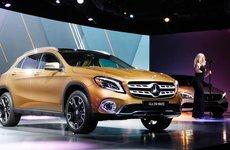 SUV bí ẩn của Mercedes-Benz chuẩn bị trình làng tại triển lãm VMS 2017