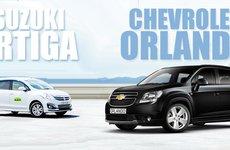 So sánh xe Suzuki Ertiga 2017 và Chevrolet Orlando 2016: Đại chiến MPV gia đình giá rẻ