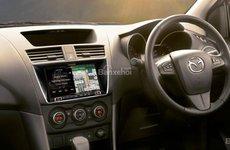 Mazda BT-50 2017 trang bị hệ thống thông tin giải trí và định vị mới của Alpine