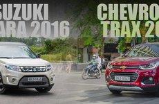 So sánh xe Chevrolet Trax 2017 và Suzuki Vitara 2016: Đại chiến SUV đô thị 800 triệu