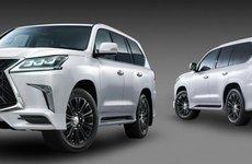 Ngắm Lexus LX570 2018 thể thao với gói độ TRD chính hãng
