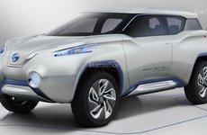 Nissan tiếp tục thiết kế xe điện trên nền tảng Nissan Leaf 2018