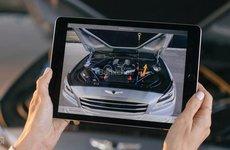 Genesis ra mắt ứng dụng tăng cường thực tế ảo