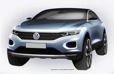 Ảnh thiết kế phác thảo của Volkswagen T-ROC 2018 hoàn toàn hé lộ