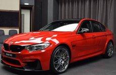 """Lộ diện BMW M3 độ đỏ satin cực """"lóa mắt"""""""