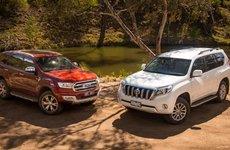 So sánh nhanh Toyota Prado và Ford Explorer: Chọn SUV 7 chỗ 2 tỷ đồng nào?
