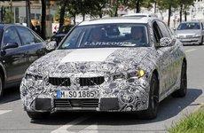 BMW 3-Series 2019 lộ diện với đèn pha phiên bản sản xuất