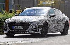 Audi A7 2018 chạy thử có thể ra mắt triển lãm Los Angeles cuối năm nay