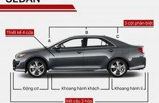 Phân biệt các dáng xe ô tô thường gặp ở Việt Nam