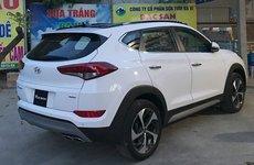 Hyundai Tucson Turbo bản CKD xuất hiện trên đường