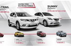Mua Nissan Navara và X-Trail để nhận ưu đãi khủng trong tháng 8/2017
