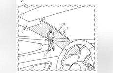 Toyota nhận bằng sáng chế cho thiết bị che giấu trụ A