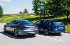 Bộ đôi Audi A4 Avant và A5 Sportback g-tron mới trình làng