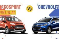 'Cuộc chiến' SUV đô thị giữa Ford Ecosport và Chevrolet Trax